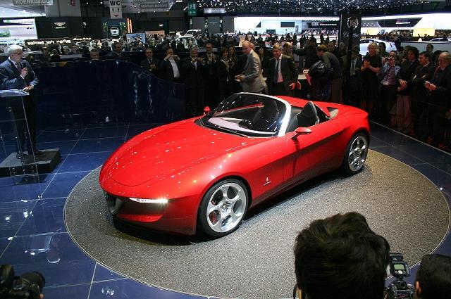 Geneva: Pininfarina 2uettottanta concept. Image by Mark Nichol.