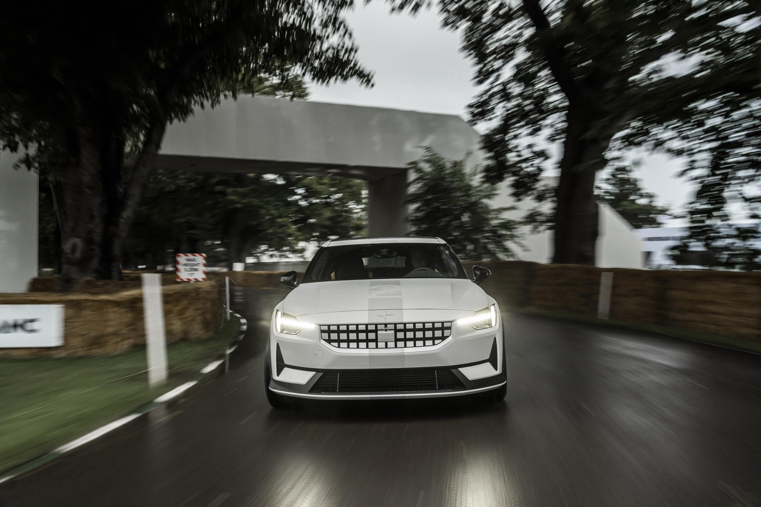Polestar mixes business with pleasure in experimental model. Image by Polestar.