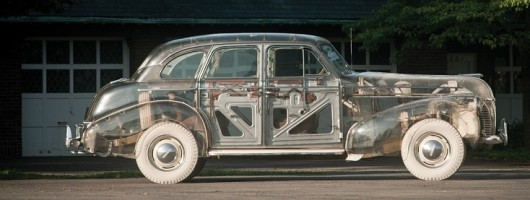 See-through car sold. Image by RM Auctions.