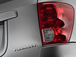 2005 Pontiac Torrent. Image by Pontiac.
