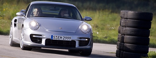 Think the 911 Turbo is for soft lads? Image by Porsche.