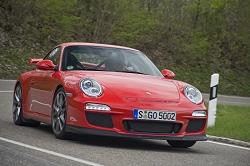 2009 Porsche 911 GT3. Image by Antony Fraser.