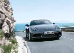 2016 Porsche 718 Boxster. Image by Porsche.