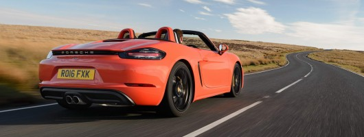 First drive: Porsche 718 Boxster S. Image by Dean Smith.
