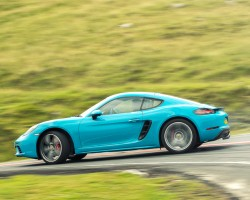The 718 Cayman S. Image by Richard Pardon.