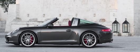 First drive: Porsche 911 Targa. Image by Porsche.