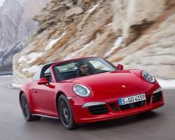 2015 Porsche 911 Targa GTS. Image by Porsche.