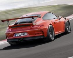 Incoming: Porsche 911 GT3 RS. Image by Porsche.