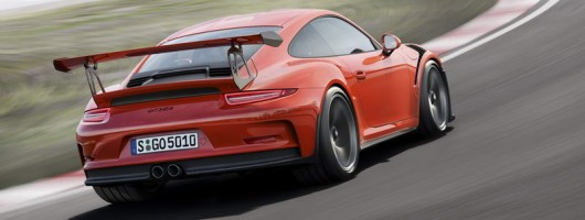 Porsche unveils new 911 GT3 RS. Image by Porsche.