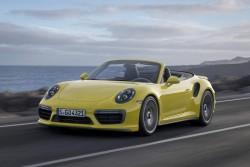 2016 Porsche 911 Turbo. Image by Porsche.