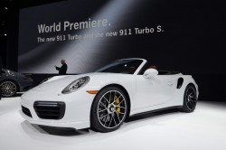 2016 Porsche 911 Turbo S Cabriolet. Image by Newspress.
