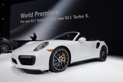 2016 Porsche 911 Turbo S Cabriolet. Image by Newspress.