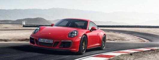 Twin-turbo Porsche 911 GTS revealed. Image by Porsche.