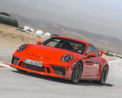 Latest 911 GT3 with PDK. Image by Porsche.