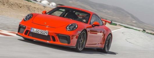 First drive: Porsche 911 GT3 PDK. Image by Porsche.