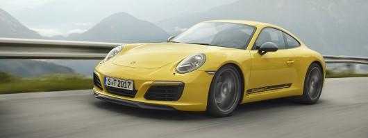 Driven: Porsche 911 Carrera T. Image by Porsche.
