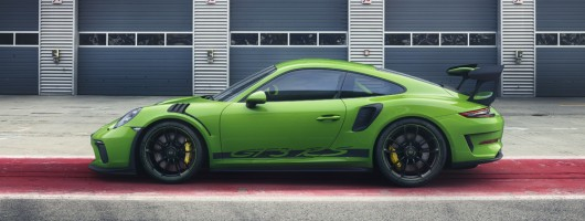 New 911 GT3 RS gets 520hp. Image by Porsche.
