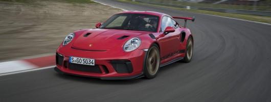 First drive: Porsche 911 GT3 RS. Image by Porsche.