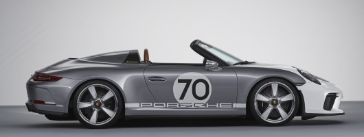 Porsche teases us with 911 Speedster Concept. Image by Porsche.