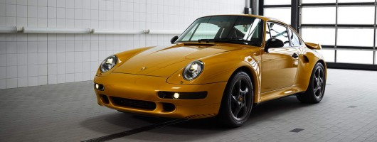 One last chance to own a new 993 Porsche 911. Image by Porsche.