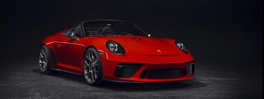 Porsche 911 Speedster production confirmed. Image by Porsche.