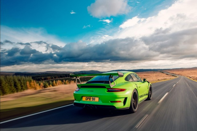 Driven: Porsche 911 GT3 RS. Image by Porsche.