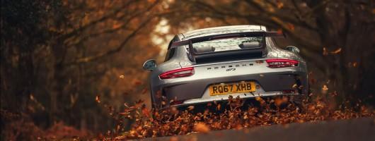 Driven: Porsche 911 GT3 manual. Image by Porsche.