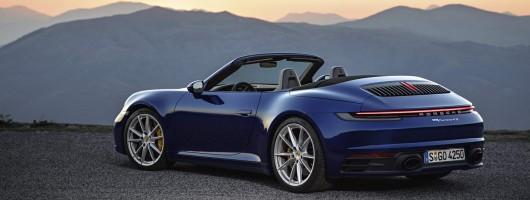 Porsche adds Cabriolet to '992' 911 line-up. Image by Porsche.