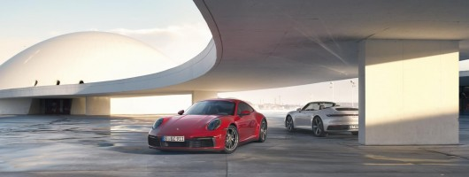 Porsche drops C4 models into 911 line-up. Image by Porsche AG.