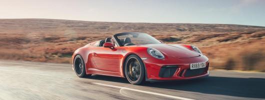 First drive: Porsche 911 Speedster (991). Image by Porsche UK.