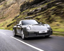 Porsche 911 Carrera UK test. Image by Porsche UK.