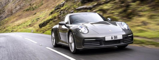First drive: Porsche 911 Carrera (992). Image by Porsche UK.
