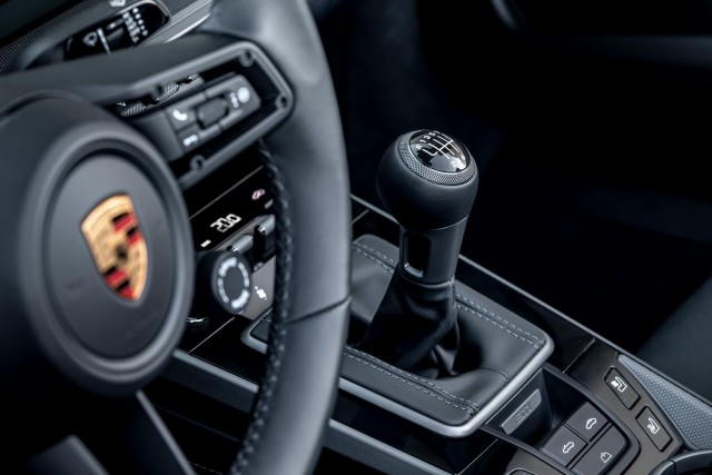 Porsche drops manual 'box into 911. Image by Porsche AG.