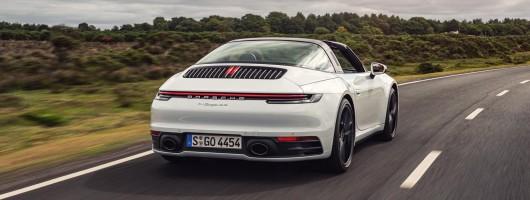 First drive: Porsche 911 Targa (992). Image by Richard Pardon.