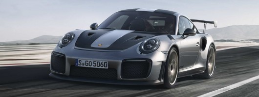 New Porsche 911 GT2 RS is official. Image by Porsche.