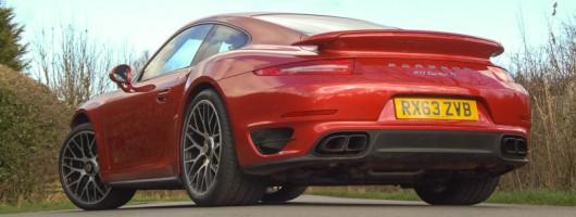 Driven: Porsche 911 Turbo S. Image by Matt Robinson.