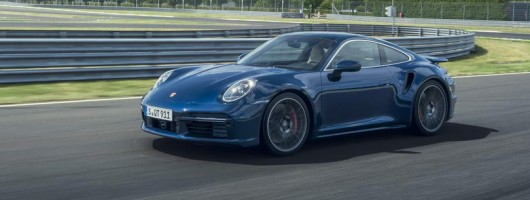 New Porsche 911 Turbo revealed. Image by Porsche.