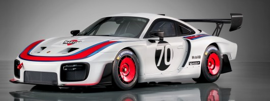 'Moby Dick' Porsche 935 lives again. Image by Porsche.