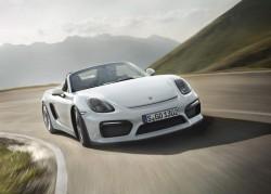 2015 Porsche Boxster Spyder. Image by Porsche.
