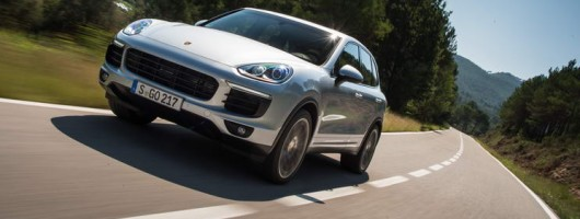 First drive: Porsche Cayenne S. Image by Dean Smith.