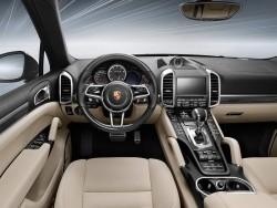 2015 Porsche Cayenne Turbo S. Image by Porsche.