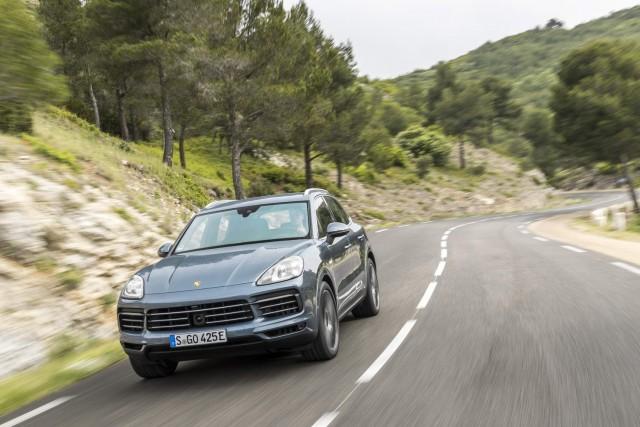 First drive: Porsche Cayenne E-Hybrid. Image by Porsche.