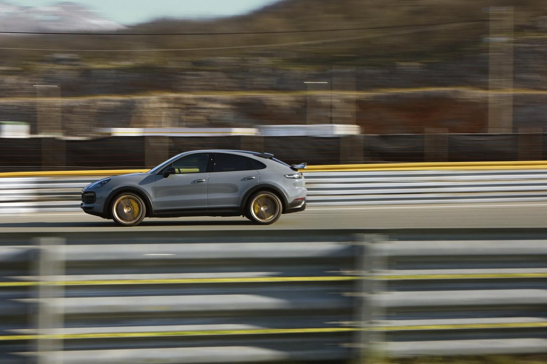 Cayenne Turbo GT is fastest-ever Porsche SUV. Image by Porsche.