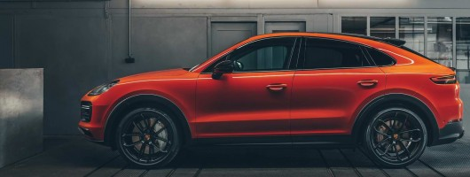 Porsche Coupe-ifies the Cayenne SUV. Image by Porsche.