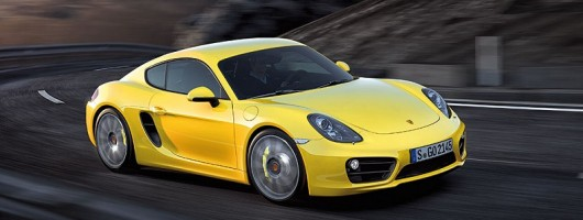 Here's the all-new Porsche Cayman. Image by Porsche.