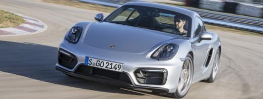 First drive: Porsche Cayman GTS. Image by Porsche.