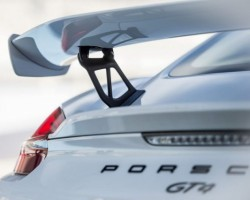 Factory-order Porsche Cayman racer on way. Image by Porsche.