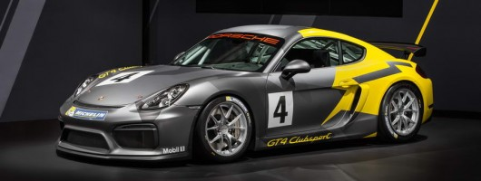 Porsche strips Cayman GT4 for racing Clubsport model. Image by Porsche.