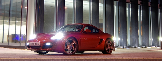 Week at the Wheel: Porsche Cayman S. Image by Kyle Fortune.