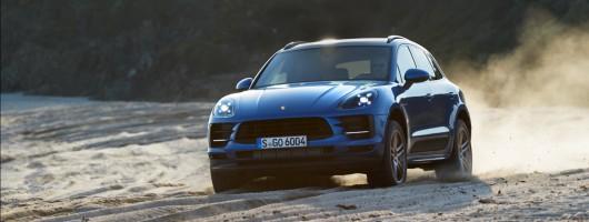 Updated Porsche Macan debuts in Paris. Image by Porsche.
